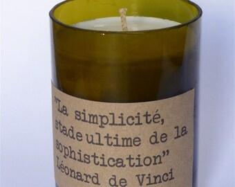 CANDLE SOY Leonardo da Vinci