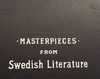 Vintage Masterpieces From Swedish Literature