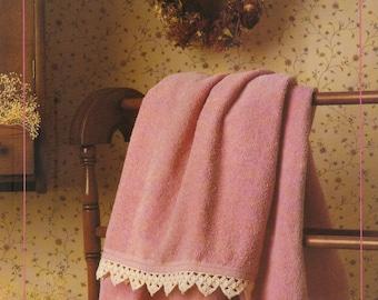 Vintage Towel Edging Crochet Pattern