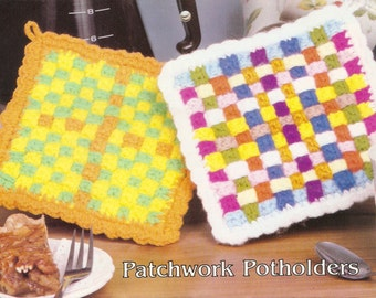 Free Knitting Pattern For Zingy : Zingy ripple potholder pattern - INSTANT DOWNLOAD from DiGreenall on Etsy Studio