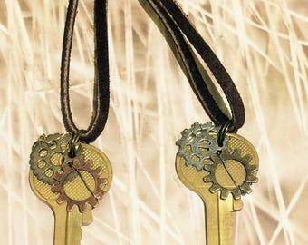 Friendship Key Necklaces