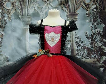 Harry Potter Hermione Gryffindor style tutu dress