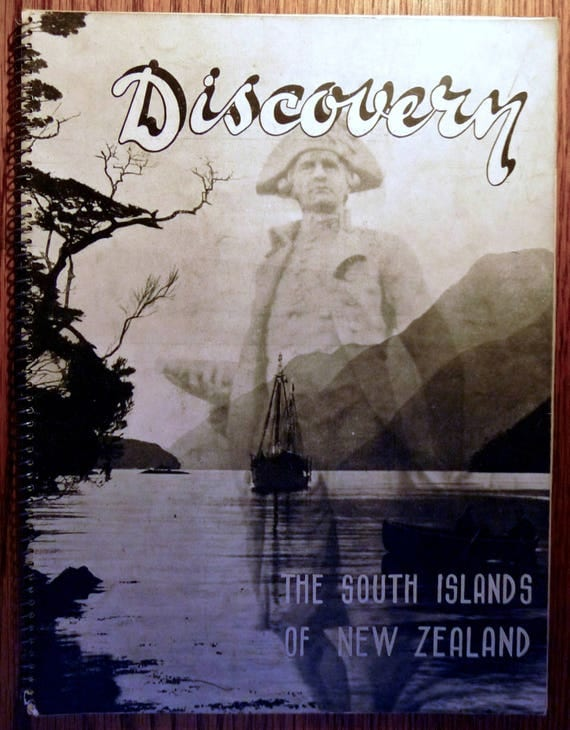 Discovery: The South Islands of New Zealand Volume 1 Number 3 December 1937 Vintage Travel Tourism Magazine