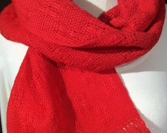 Lightweight wool scarf assorted colors