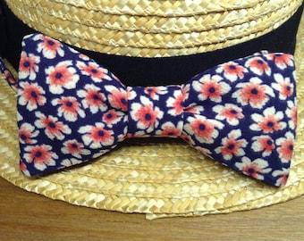 "Bow tie ""Flower power"""