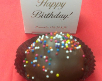 Chocolate Truffle in Happy Birthday! Truffle Box