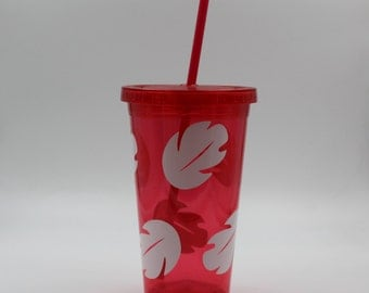 Lilo and Stitch Dress Inspired Tumbler