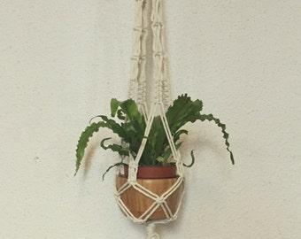 "Macrame door hanging plant, model ""California dream"""