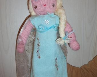 Frozen wool doll