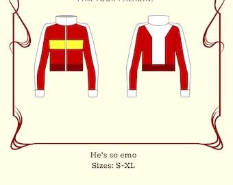 Kieth Kogane Jacket Cosplay from the Legendary Defenders Series PDF Sewing Pattern