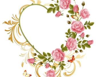 Heart Embroidery Machine Embroidery Design –EDR-PES