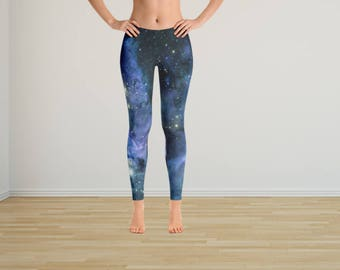 Galaxy Tights, Galaxy Leggings, Graphic Tights, Graphic Leggings, Yoga Tights, Yoga Leggings, Yoga Pants, Hippie Pants,Space Tights,Leggings