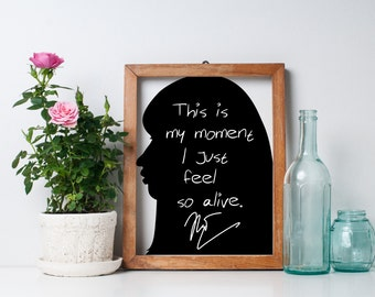 "Nicki Minaj ""This is My Moment"" Art Print"