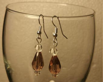 Topaz earrings