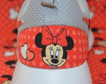 Disney Minnie Mouse Nike Roshe Run One Shoe Sneaker