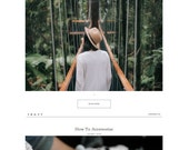 SALE! Chandler | Responsive Blogger Template