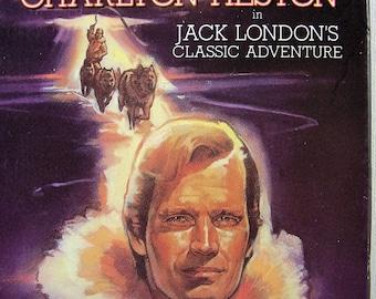 Call of the Wild 1989 VHS Video Jack London Classic Adventure Charlton Heston Dog Sled  Yukon Klondike Gold Rush Alaska