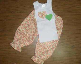 Baby Girl/Toddler Pants and Singlet Set