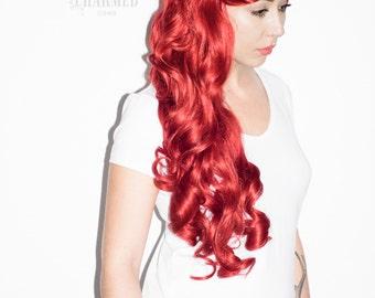 Mermaid waves Ariel inspired