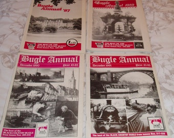 Black Country Bugle Annual 1987, 1989,  1990 and 1991  -Ex Condition - Industrial Revolution - Social History