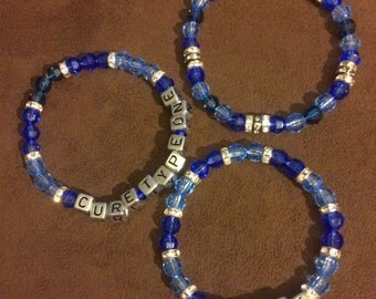 Type One Diabetes Awareness Bracelets