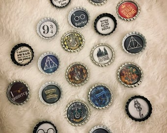 Harry Potter inspired pins/buttons
