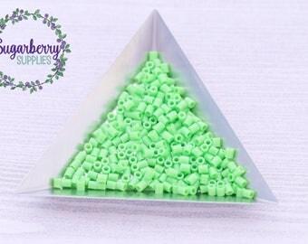 Mini Kiwi Lime 2000pc Perler Fused Bead Package Mini  - Mini Perler Beads - Fuse Beads - Melty Beads - Bead Lot