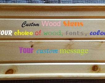 Custom Wood Signs, Barn Wood Signs