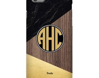 iPhone 6s Monogram Case - Marble iPhone 7 Case - iPhone 6S Plus Case - Monogrammed iPhone 5C Cover- iPhone SE Monogram - iPhone 5S Hard Case