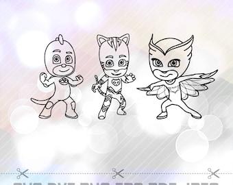 how to draw pj masks owlette
