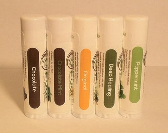 All Natural-Beeswax Chapstick-Lip Balm-Butter Flavors Coconut Oil-Flavored-Homemade Lip Balm > All Natural Lip Balm