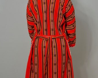 Women's Vintage Aztec Coat