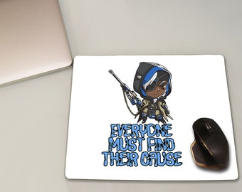 Ana Overwatch Mouse Pad, Overwatch, Overwatch Decor, Overwatch Mousepad, Game Mouse pad, Play mat