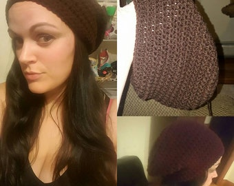 Handmade slouchy beanie hats