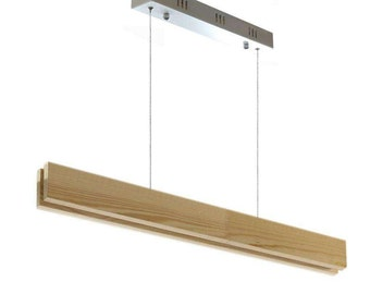 SUSPEND, 20W, CRI95 WOOD pendant. Led ceiling lamp. Lamp in wood for roof. Lamp hanging from wooden.