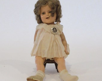 Vintage 1930's Shirley Temple Doll