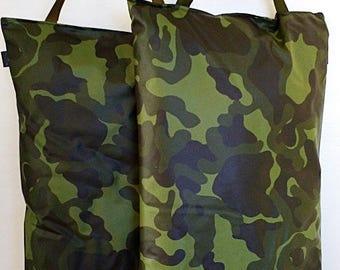 Garden Kneeler Camouflage Gardener Kneeling Pad Waterproof  Oilcloth Kneeling Mat Gardening Kneeler Outdoor Pillow