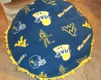 WVU Floor Pillow