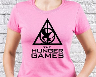 The Hunger Games/ Hunger Games/ Mockingjay Design/ women tshirt/ The Hunger Games tee/ Hunger Games tshirt/ Katniss Everdeen tee/ tee/(HG01)