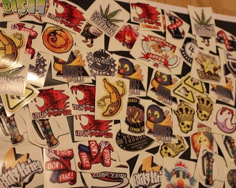 x20 any Stickers from CS GO in real life , Counter Strike Global Offensive CS