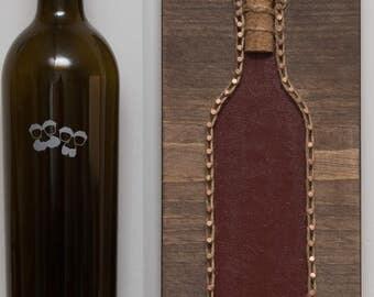 Wine Bottle String Art - Free Shipping