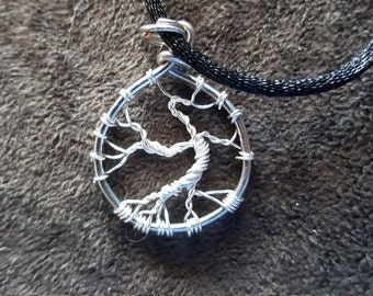 Wire-Wrapped Mini Tree of Life Pendant