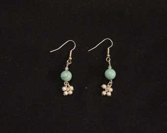 Turquoise Bobble Earrings
