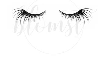 Gorgeous Falsies - REAL foil print, eyelashes, fake eyelashes, princess, handmade, luxe print