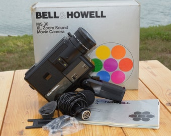 Bell & Howell MS 30 XL Zoom Sound Movie Camera