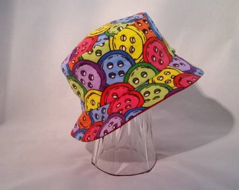 Bucket Hat Bright Color Toddler Small Size  TSB2