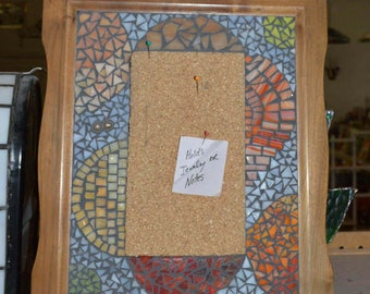 Mosaic cork board