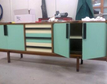 Danish sideboard restored