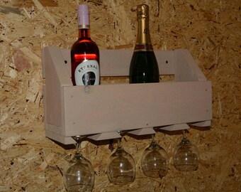 Wine Holder Handmade