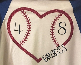Baseball Team Name Heart